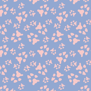 serene rose pawprints