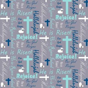 He is risen blues