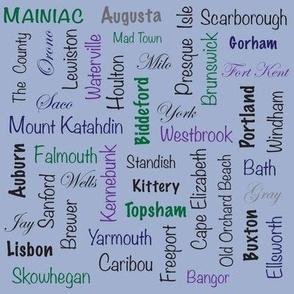 Maine Towns - Mainiacs
