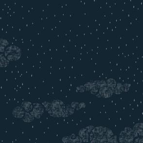 A Walk in the Night Sky - Clouds