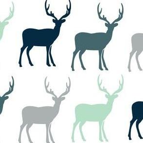 Multi Rustic Deer