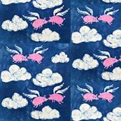 Batik Flying Pigs