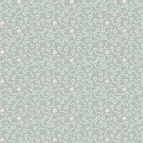 heart balloon gray creme for Bunny Angel