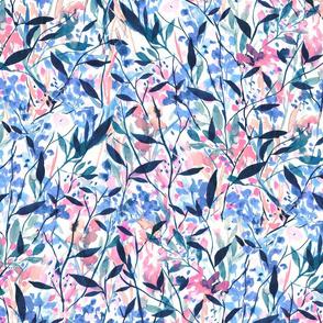 Wandering Wildflowers Blue
