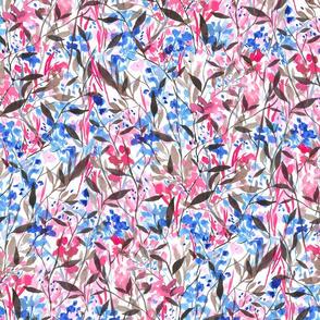 Wandering Wildflowers Pink