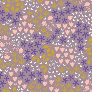 Spring blossom (purple)