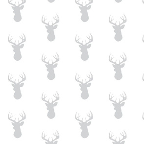Deer- light grey/white
