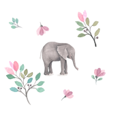 Elephant Florals