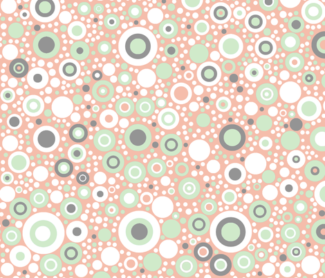 Spotty Dotty in Cucumber and Cream