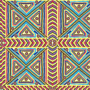 Tuffted Tribal