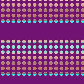 Hyper Dots - Plum