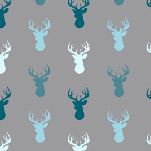 Deer-Teal/Blue/Grey- Winslow
