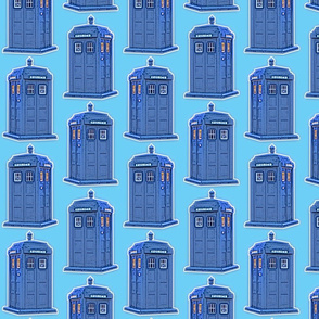 Dean's Police Boxes ~ Who Knew?