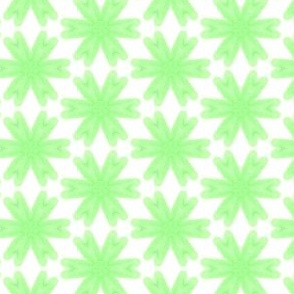 Verdant Growth WaterColor Painting Pattern