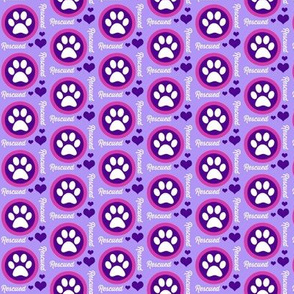 Paw Power Purple