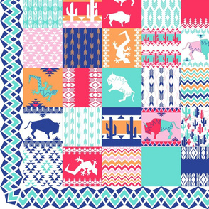 Southwest Cheater Quilt