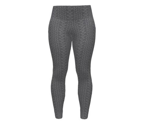 Knit2 Purl2 - Grey
