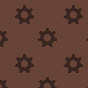 Brown cogs