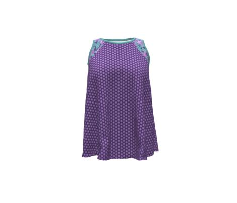 Holidays Purple polka