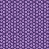 Fall Purple polka