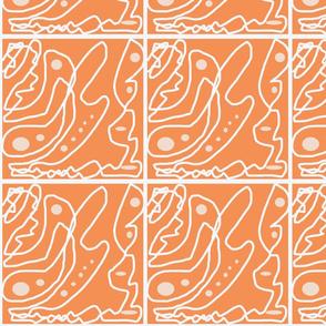 orange perl