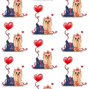 Yorkie Valentine Medium