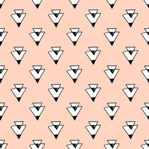 triangles // southwest tri triangles blush southwest baby triangles nursery
