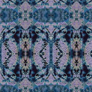 Indigo Kaleidoscope # 2 Revisited