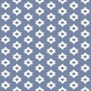 aztec // southwest stonewash blue nursery baby boy kids southwest triangles simple