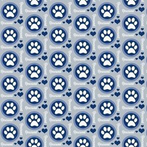 Paw Power Blue