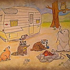 vintage critter campers