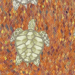 turtle autumn