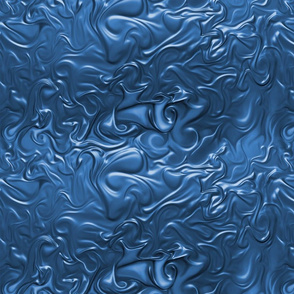 Royal_Blue Molten Swirls