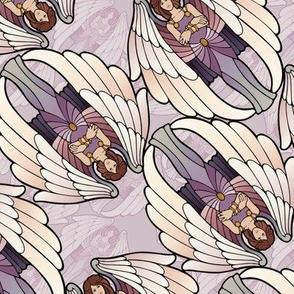 impatient angel antiqued