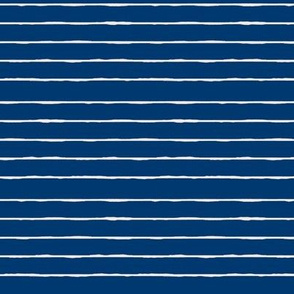 swim lane stripe in nautical blue