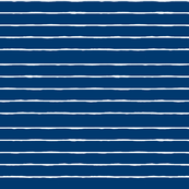 swim lane stripe in nautical blue and white