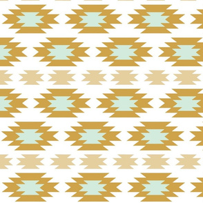 Aztec Gold and Mint