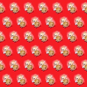 Chihuahua Red Small Pattern