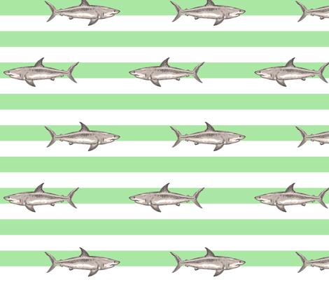 Fresh summer sharks green