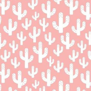 Cactus garden cool trendy summer design for kids in pink for girls