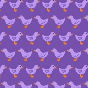Ducks in a Row (Purple)
