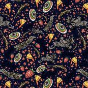 The Shiniest Fabric in the Dark Verse