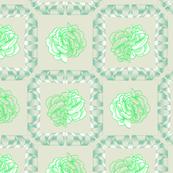 rose & spindle - khaki/lime