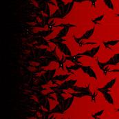 Night Hunters (small, horizontal) - ruby