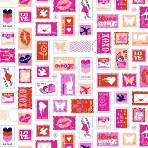 Book of Stamps* (Pink Riot)