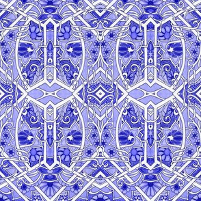Blue China Garden