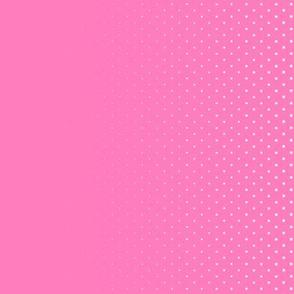 Dean's Pink Halftone Border Print