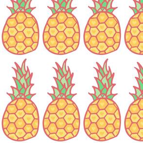 Pineapple Hearts Yellow