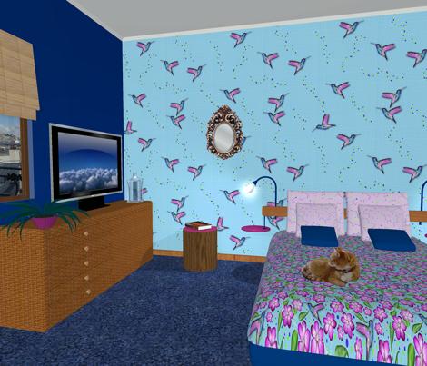 Colibri&Confetti (Blue)