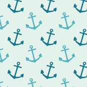 Light Blue Anchors